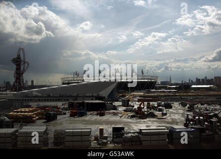 Olympics - Olympic Stadium Views - Stock Photo