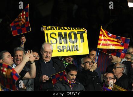Soccer - UEFA Champions League - Semi Final - Second Leg - Barcelona v Chelsea - Camp Nou Stadium - Stock Photo