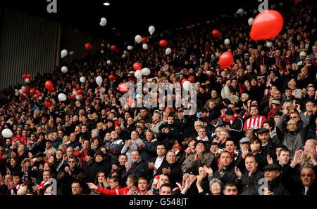 Soccer - npower Football League One - Sheffield United v Stevenage - Bramall Lane - Stock Photo