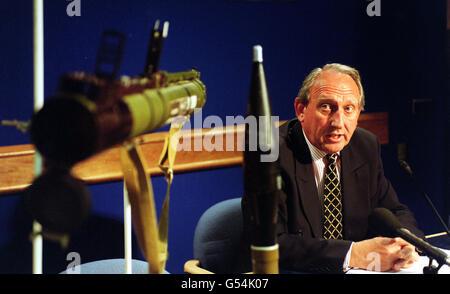 Missile launcher Blast MI6 - Stock Photo