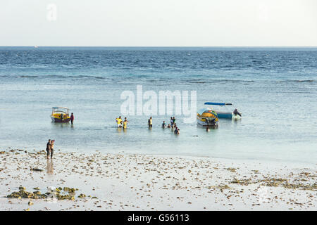 Indonesia, Sulawesi Selatan, Bulukumba, Beach of Bira - Stock Photo