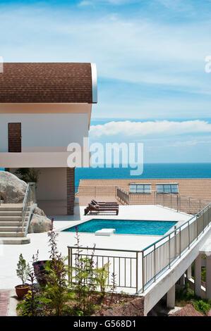 Luxury villa for summer enjoyment, Koh Tao, Thailand - Stock Photo