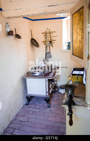old kitchen in a village - Stock Photo