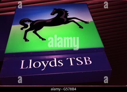Lloyds Takeover of Abbey National - Stock Photo