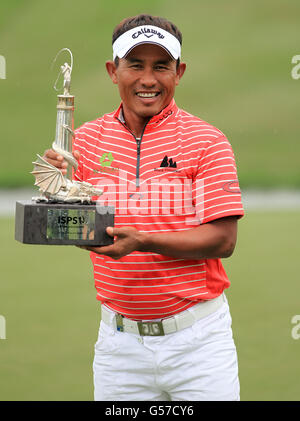 Golf - The ISPS Handa Wales Open 2012 - Round Four - The Celtic Manor Resort - Stock Photo