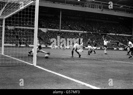World Cup Final 1966 England v West Germany - Stock Photo