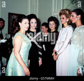 PRINCESS MARGARET / 1968 - Stock Photo
