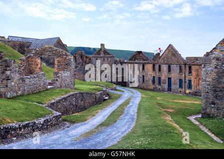 Charles Fort, Kinsale, County Cork, Ireland - Stock Photo