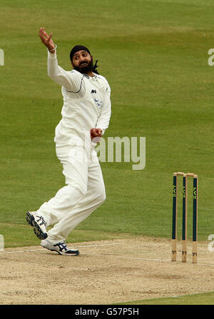 Cricket - LV= County Championship - Division One - Middlesex v Sussex - Day Two - Lord's - Stock Photo