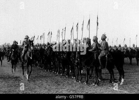 JODHPUR LANCERS: 1921 - Stock Photo