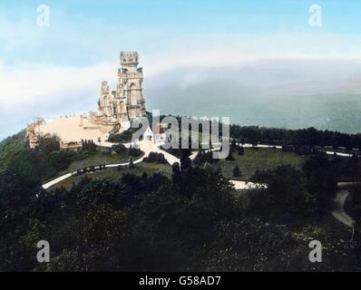 Den Mittelpunkt bildet das Kaiser-Wilhelm-Denkmal, eine Art westfälisches Nationaldenkmal, 1902 von A. und K. Donndorf - Stock Photo