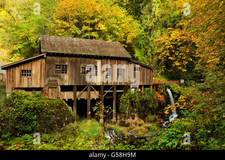 Cedar creek grist mill clark county washington stock photo for The cedar mill
