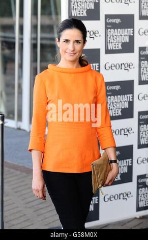 Graduate Fashion week - London - Stock Photo