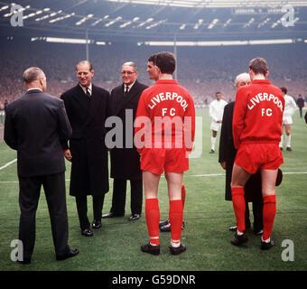 Soccer - FA Cup Final - Leeds United v Liverpool - Wembley Stadium, London - Stock Photo