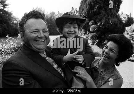 HARRY SECOMBE : 1971 - Stock Photo