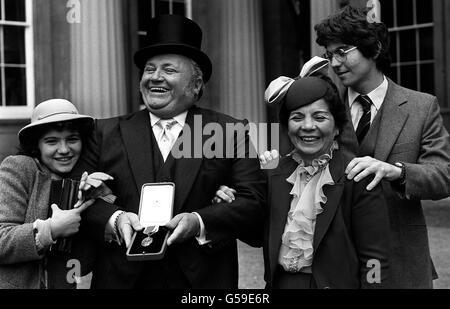 HARRY SECOMBE : 1981 - Stock Photo