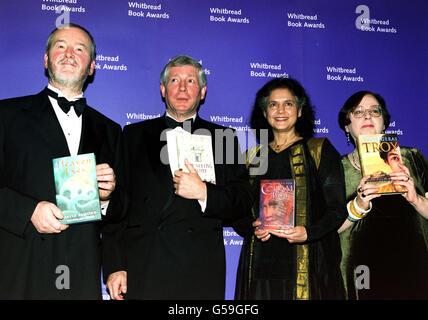 Whitbread Bk Awd Kids authors - Stock Photo