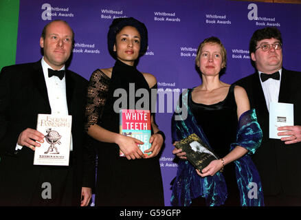 Whitbread Book Award authors - Stock Photo