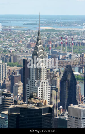 New York City, New York skyline - Stock Photo