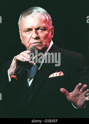 Frank Sinatra Royal Albert Hall 92 - Stock Photo