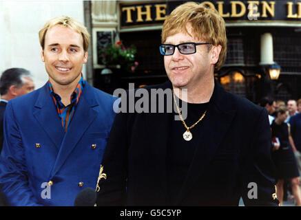 Sir Elton John Auction Preview - Stock Photo