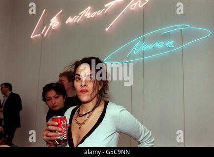Tracey Emin Exhibition - Stock Photo