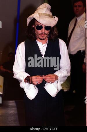 Blow premiere  Johnny Depp - Stock Photo