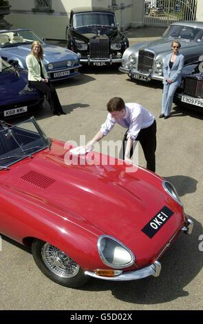 Elton John's car - Stock Photo