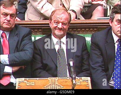Commons Robin Cook MP - Stock Photo
