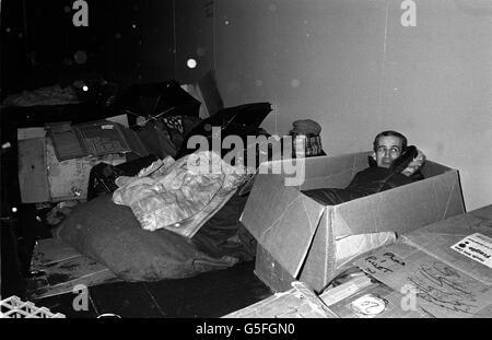 Homeless/CharingCross - Stock Photo