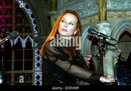 Tori Amos London concert - Stock Photo