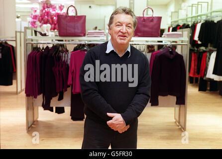 M&S Designer George Davies - Stock Photo
