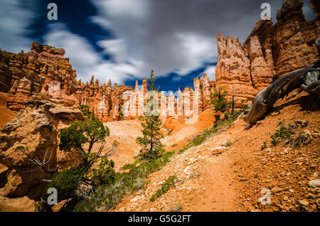 An Adventure in Bryce Canyon National Park - Stock Photo