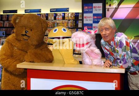 London Kids show-Rainbow - Stock Photo