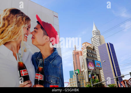 Hotel New York, Las Vegas, Nevada. - Stock Photo