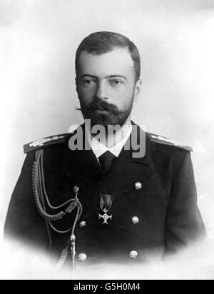 World War One - Russian Leaders - Stock Photo