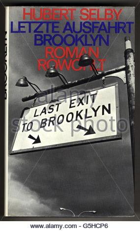 book, Hubert Selby: 'Last Exit to Brooklyn', novel, German edition ('Letzte Ausfahrt Brooklyn'), Rowohlt publishing - Stock Photo