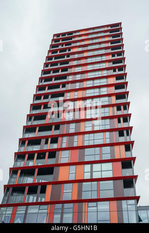 Modern Building in Rotterdam, Netherlands -1 - Stock Photo