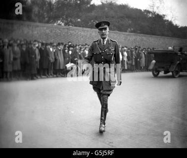 World War One - British Army - Henry Wilson - Stock Photo