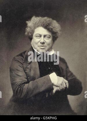 Alexandre Dumas, French writer - Stock Photo