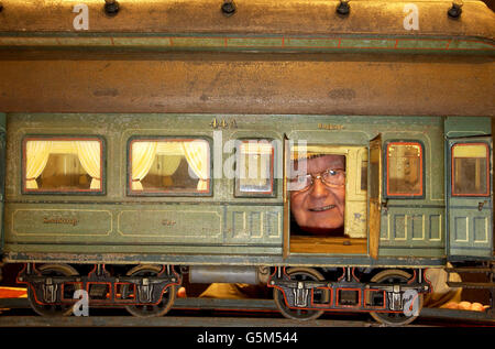 Most expensive toy/ Train set - Stock Photo