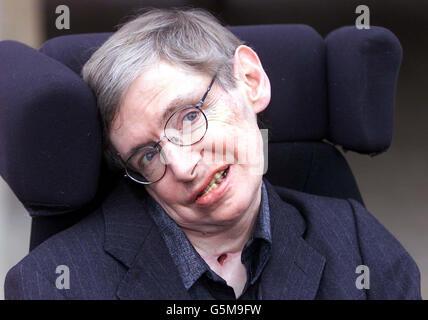 Stephen Hawking 60th Birthday - Stock Photo