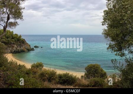Beautiful place in Sithonia, Chalkidiki, Greece - Stock Photo