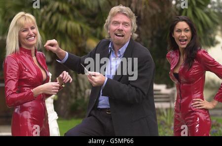 Virgin Credit Card Launch - Stock Photo