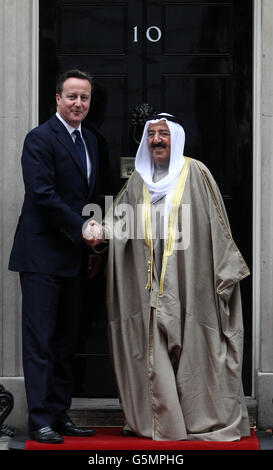 Amir of Kuwait visit to the UK - Day Two - Stock Photo