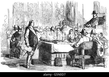 the rump parliament The rump parliament followed the dissolution of the long parliament in 1648, and was responsible for the execution of king charles i the term 'rump' refers to something that is left over this.
