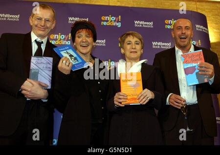 Whitbread Book Awards Authors - Stock Photo