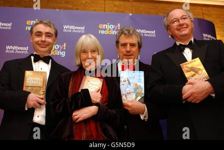 Whitbread Book Awards Authors - Stock Photo