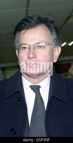Transport Secretary Stephen Byers - Stock Photo
