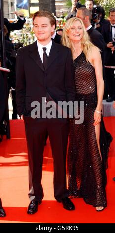 Cannes - Diaz and DiCaprio - Stock Photo